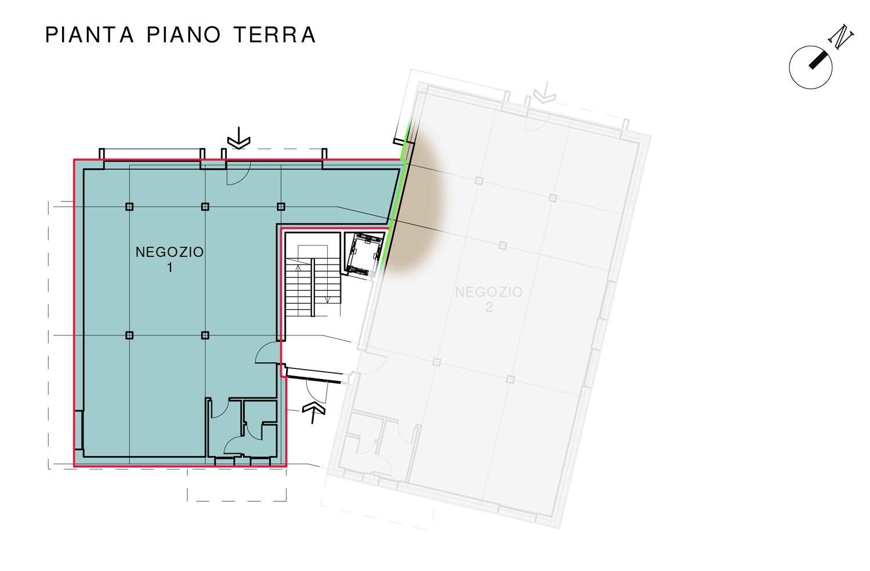 Negozio 1 – Residenza Margherita