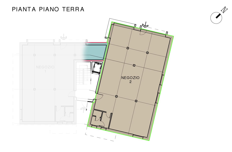 Negozio 2 – Residenza Margherita